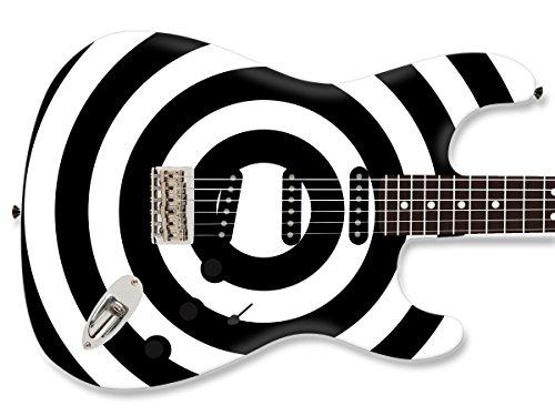 Guitar Bullseye (Skin Your Skunk Bullseye Guitar Skin (Standard 20Wx15H))