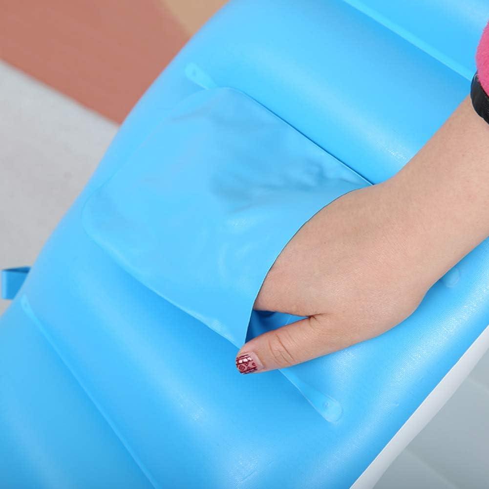 Romote Baignoire B/éb/é Gonflable Grande Capacit/é Plastique Air Piscine Pliable Voyage Air Douche Bassin pour Enfants Infant Toddler Bleu 1pc