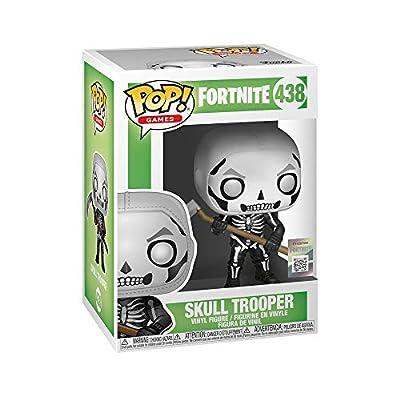 Funko 34470 Pop! Games: Fortnite - Skull Trooper, One Size, Multicolor: Toys & Games