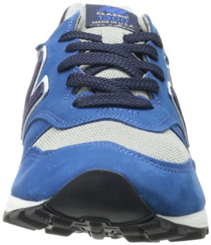 New Balance Mens ML1300 Classic Fashion Sneaker Grey/Blue qHPNPG0ke