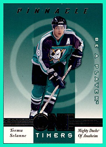 1997-98 Be A Player One Timers #8 Teemu Selanne ANAHEIM MIGHTY (Anaheim Mighty Ducks Player)