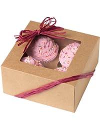 Bargain Wilton Kraft 4 Cavity Cupcake Boxes, 3 Count occupation