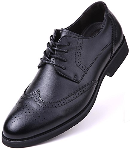 (Dressports Wingtip Shoes, Black - Wingtip, 10.5 D(M) US,Black - Wingtip)