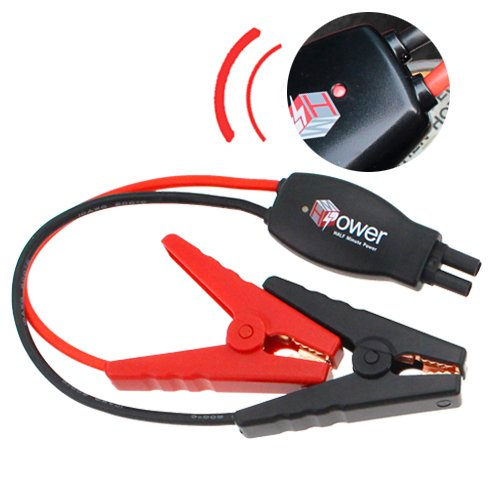 Half Clamp (HALF Minute Power 12V Replacement Smart Car Battery Clamp / Emegency Jumper Cable Fits for most of Portable Car Battery Booster in the Market with Multiple Safe Protection Functions)