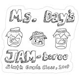 Deangelo Ms. Day's Jam-Boree 2009 - New Girl Stickers (3 Pcs/Pack)