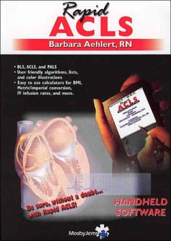 Rapid ACLS on PDA - CD-ROM PDA Software