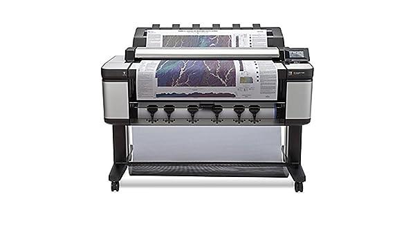 HP Designjet T3500 36-in Production eMFP - Impresora de gran formato (HP-GL/2, HP-RTL, PCL 3, 2400 x 1200 DPI, Negro, Cian, Magenta, Negro mate, Foto negro, Amarillo, A0 (841 x 1189 mm),