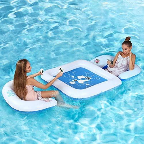 Amazon.com: KABOER - Juego de mesa y sillas flotantes para ...