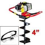 GHP Lightweight Black Frame 2-Stroke 2.3 Horse Power One-man Post Hole Digger