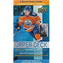 2016 2017 Upper Deck NHL Hockey Series One Factory Sealed Unopened Blaster Box of 12 Packs
