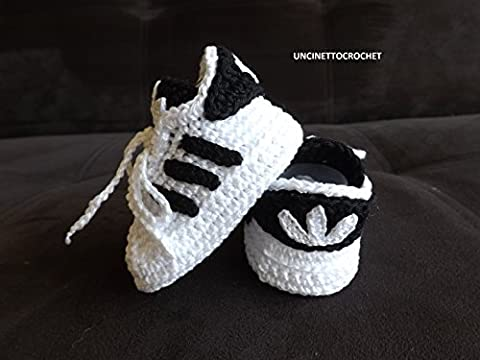 Crochet Pattern Adidas Superstar baby