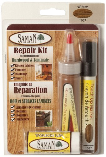 SamaN TUK-1057 Wood and Laminated Surfaces Touch Up Kit, ()