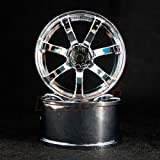 Overdose WORK EMOTION XT7 Rim 7 Offset High Chrome For 1/10 Drift #OD1192