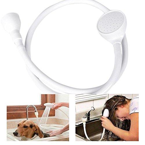 Labu Store Bathroom Faucet Shower Head Spray Drains Strainer Hose Sink Washing Hair Wash Shower by Labu Store