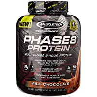 MuscleTech Phase8 73.7 Ounce Milk Chocolate Protein Powder