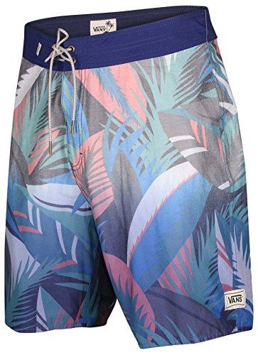 Vans Men's Off The Wall Dip Dye Board Shorts-Blue-36