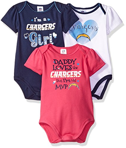 Sports Mem, Cards & Fan Shop Professional Sale Outerstuff Nfl Infant Girls Denver Broncos Assorted 3 Pack Creeper Set Discounts Price