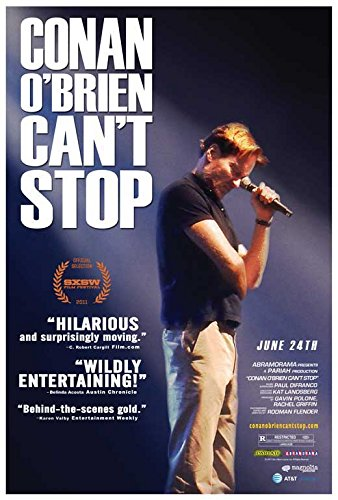 Movie Posters Conan O'Brien Can't Stop - 27 x 40
