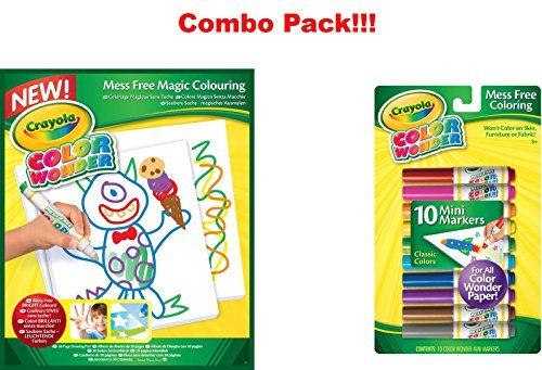 Crayola Color Wonder Drawing Paper-30 Sheets + Free Crayola