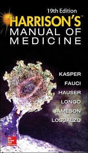 harrisons manual of medicine 19th edition 9780071828529 medicine rh amazon com harrison manual of medicine pdf harrison manual of medicine 19th