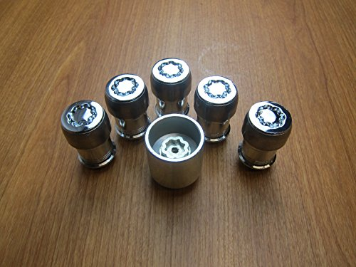 Lock Nut Kit - Mopar Jeep Wrangler JL Wheel Lock Locking Lug Nut Kit OEM