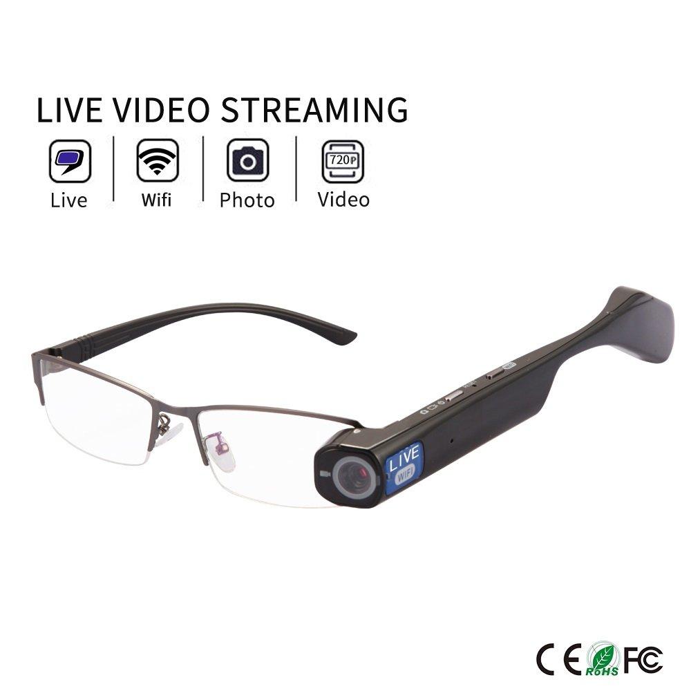 Online Live Stream Camera Glasses 32GB by Spardar