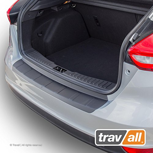 Travall Protector Compatible with Ford Focus 4 Door Hatchback (2014-2018) TBM1067P - Plastic Bumper Protector ()