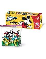 Ziploc Storage Slider Bags, Quart, 30 Count