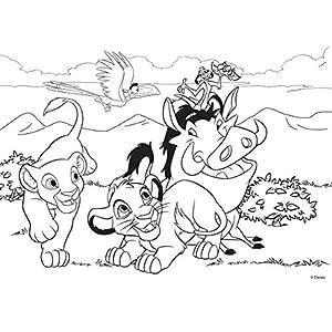 Lisciani Giochi Lion King Puzzle Multicolore 74105