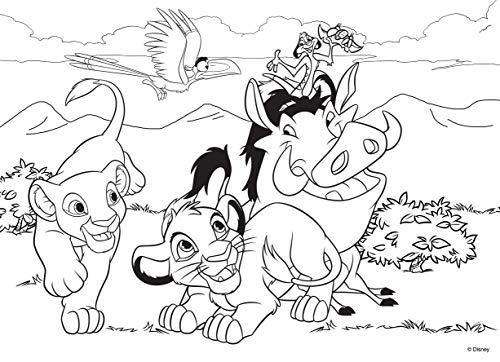 Lisciani Giochi Lion King Puzzle Multicolore 74105 Amazon It