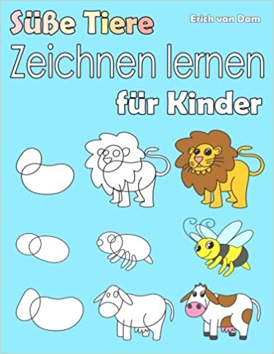 Süße Tiere Zeichnen Lernen Für Kinder Schritt Für Schritt Lernen