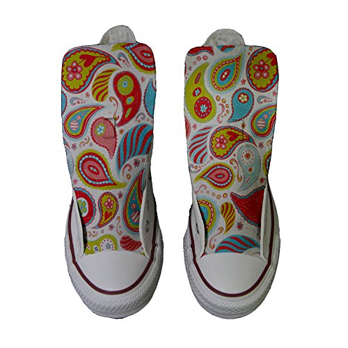 Power Star Personalizados Paisley Converse All producto Handmade Zapatos gH6qaqwY