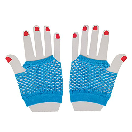 Fishnet Fingerless Wrist Gloves Accessory product image