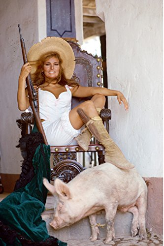 Raquel Welch in 100 Rifles 24x18 Poster