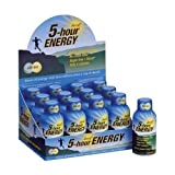 5 Hour Energy Shot, Decaf Citrus, 12 Count