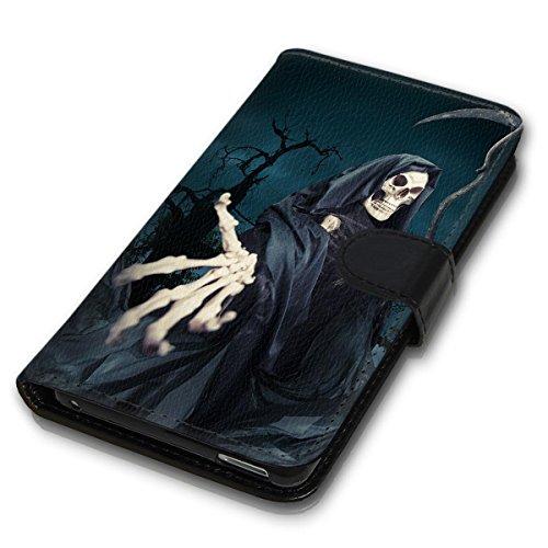 Wallet Book Style Flip Handy Tasche Case Schutz Hülle Schale Motiv Etui für Apple iPhone 6 / 6S - Design Flip MVD355