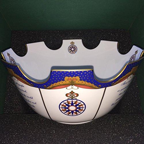 Mottahedeh Large Monteith Bowl, Millennium 2000, 13