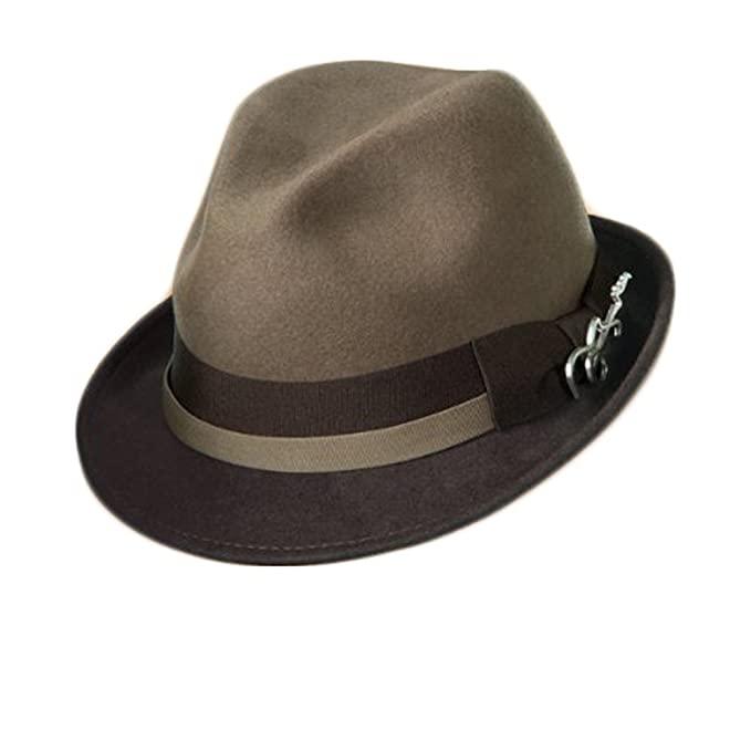 84625c0c Image Unavailable. Image not available for. Color: Dorfman Pacific Carlos  Santana Bogart Fedora Hat ...