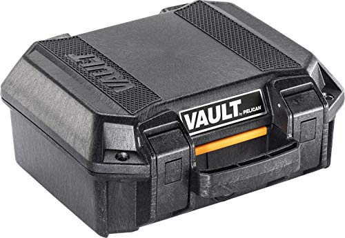Vault V100 Pistol Case with Foam - by Pelican (Black)