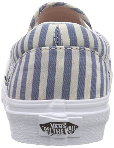 Chaussures Multicolore stripes navy Slip Classic Vans On 8TOqO