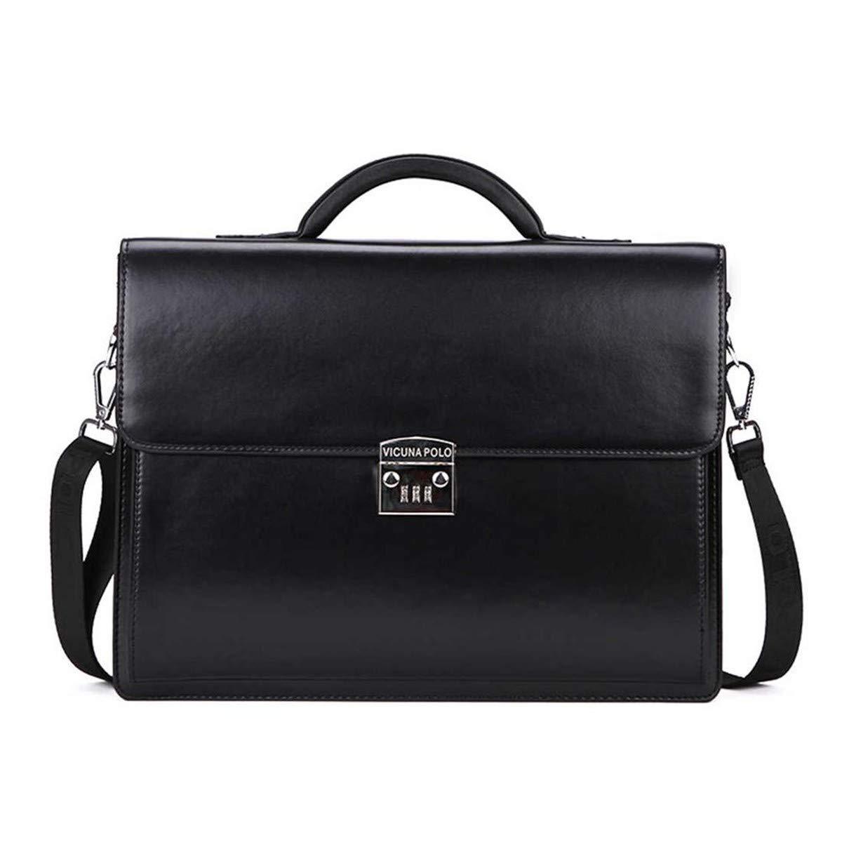 Lianai11 Laptoptasche Luxury Geschäft Herren Aktentasche mit Passwortsperre Hochwertige Geschäft Tasche für Herren