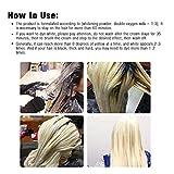 DEWIN Hair Dye Hair Whitening Cream, Bleaching