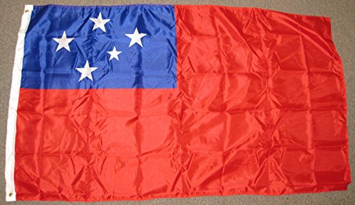 Home Comforts 3x5 Western Samoa Flag Independent State Banne