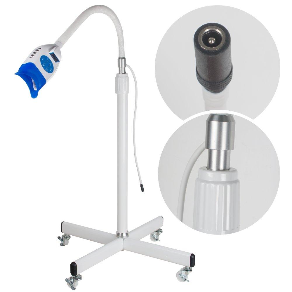 Zorvo Mobile LED Dental Teeth Whitening Bleaching Light Lamp Machine Accelerator Teeth Whitening Light for iPhone, Android Oral Care