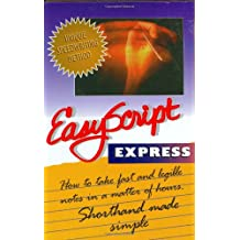Easyscript Express How to Take Fast and Legible Notes