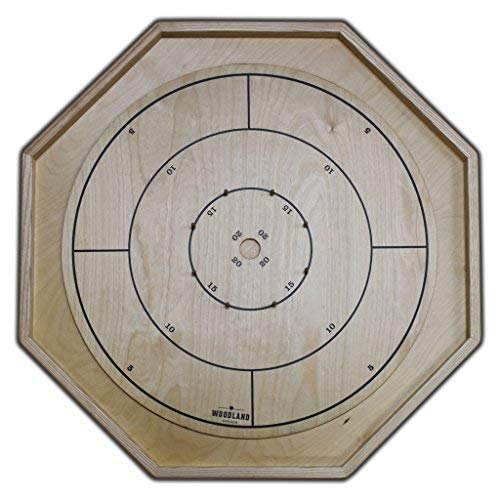 The Gold Standard - Traditional Size Crokinole Board Game Set