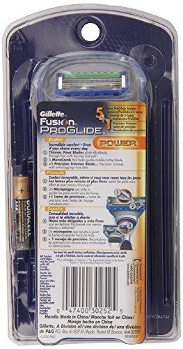 Gillette Fusion Proglide Men's Power Razor, 1 Count