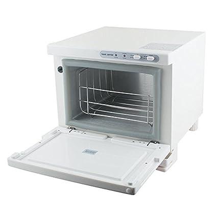 2 en 1 Caliente 8L Toalla Más cálido UV Esterilizador Calentador Gabinete Belleza Salón Spa Restaurante