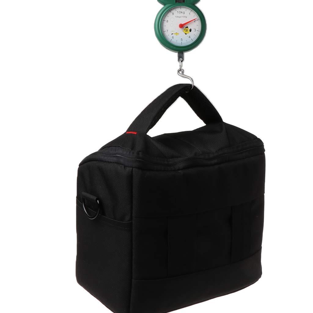 Leiter mit Haken und Taschenwaage tragbar Chou Fr/ühlingswaage 10 kg