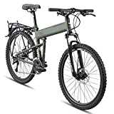 Montague Paratrooper 24 Speed Folding Mountain Bike Small - 16'